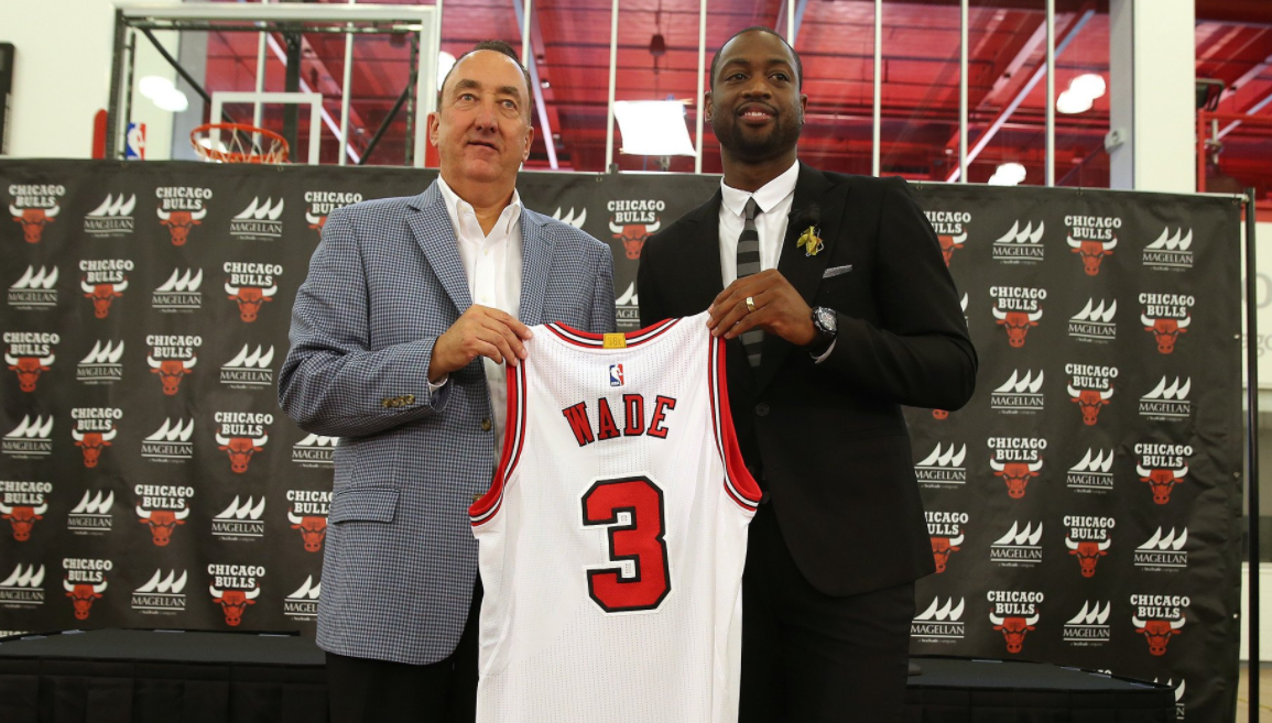 official photos 57de7 e3042 Are The Bulls Saying Bye To D Wade?