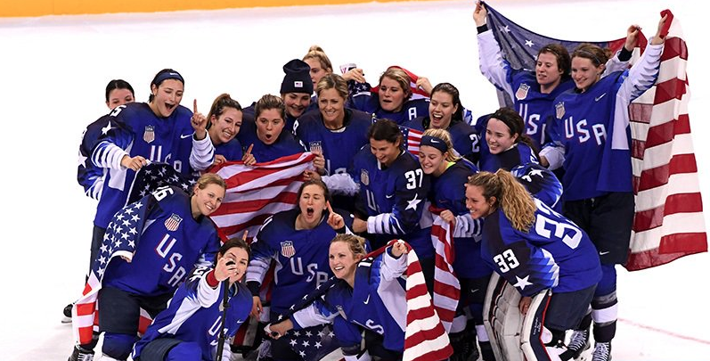 Shootout Thriller Leads To Gold For USA Hockey