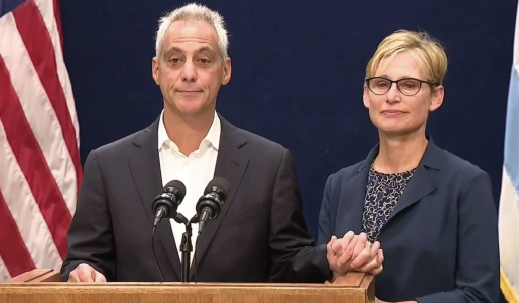Rahm Is Quitting.