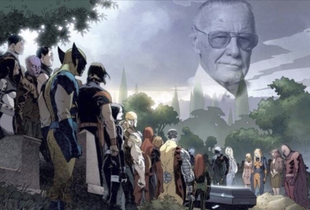 RIP to The Amazing Stan Lee