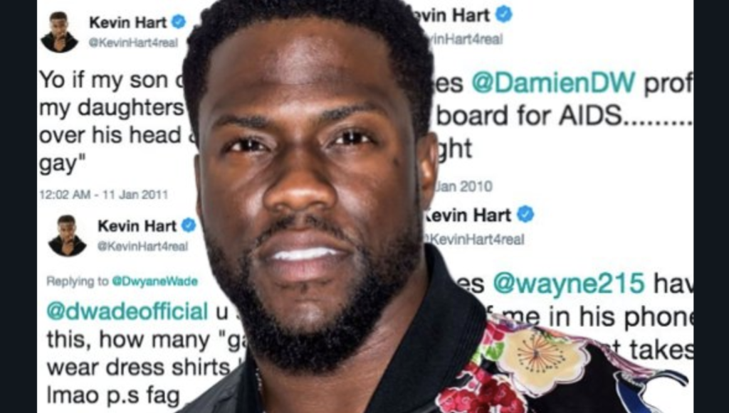 Twitter Never Forgets and Kevin Hart is Out