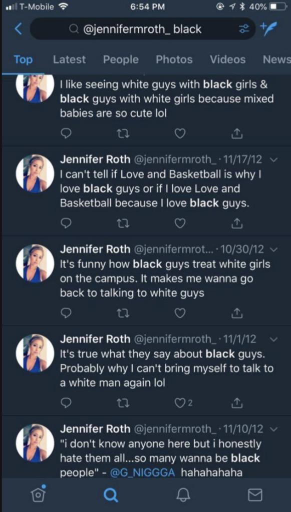 Jennifer Roth Tweets