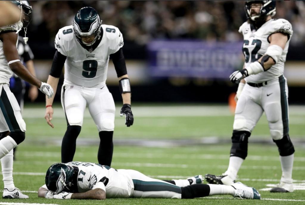Eagles Title Hopes Slip Through Alshon's Fingers
