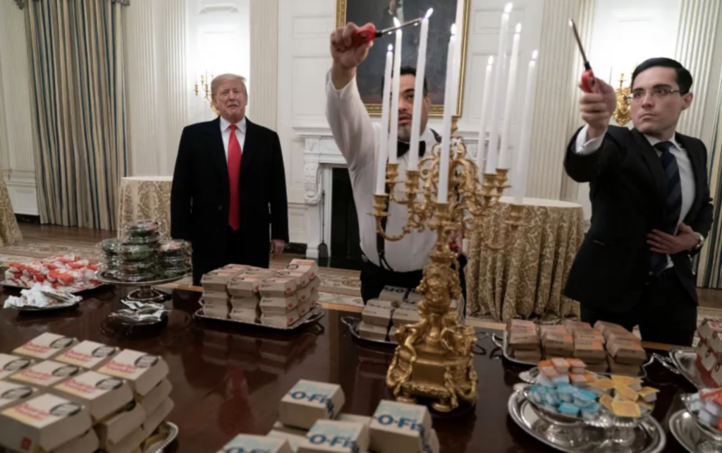 Win A National Title The President Will Buy You McDonalds
