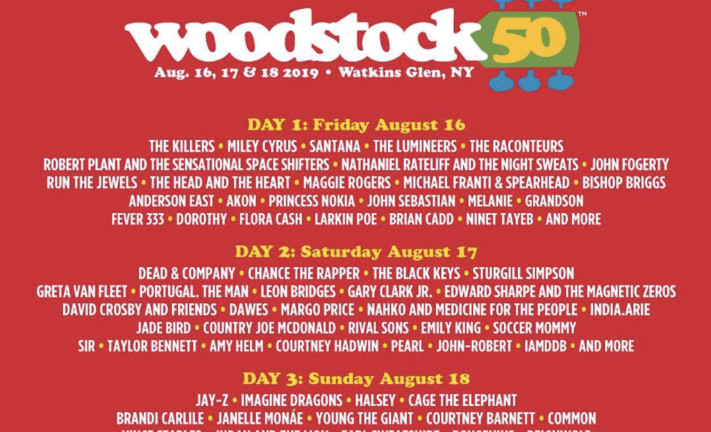 Woodstock Turns 50 and You Get the Gifts