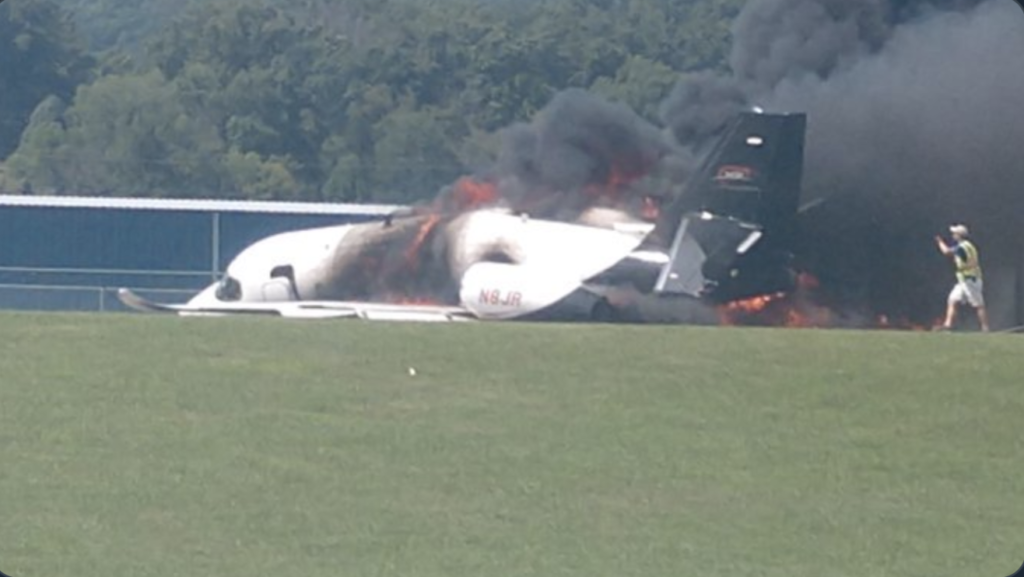 NASCAR Legend and Family In Fiery Plane Crash