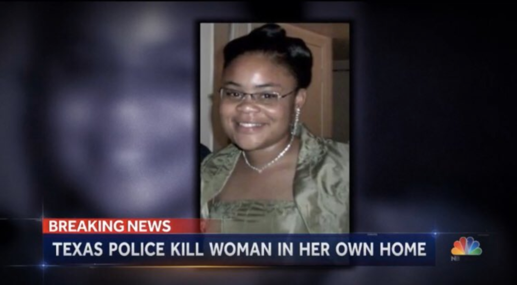 Murdered By Police, in Her Own Home