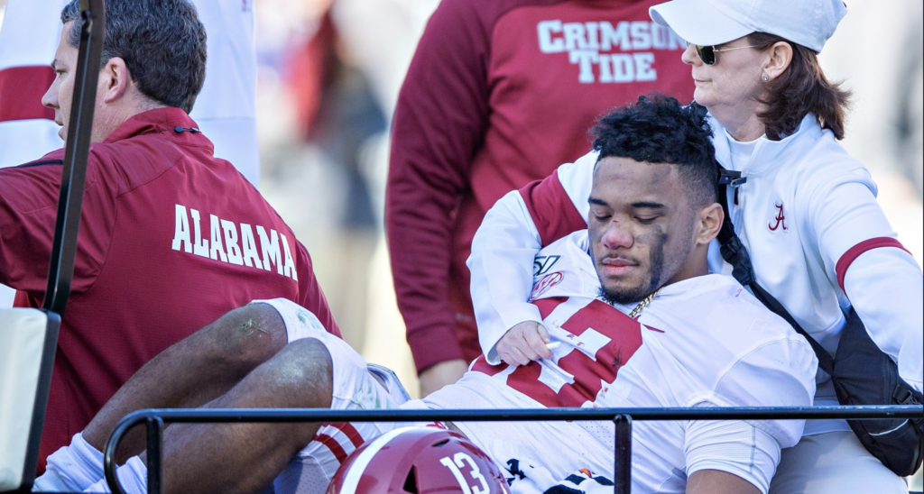 Alabama Star QB Lost For the Season