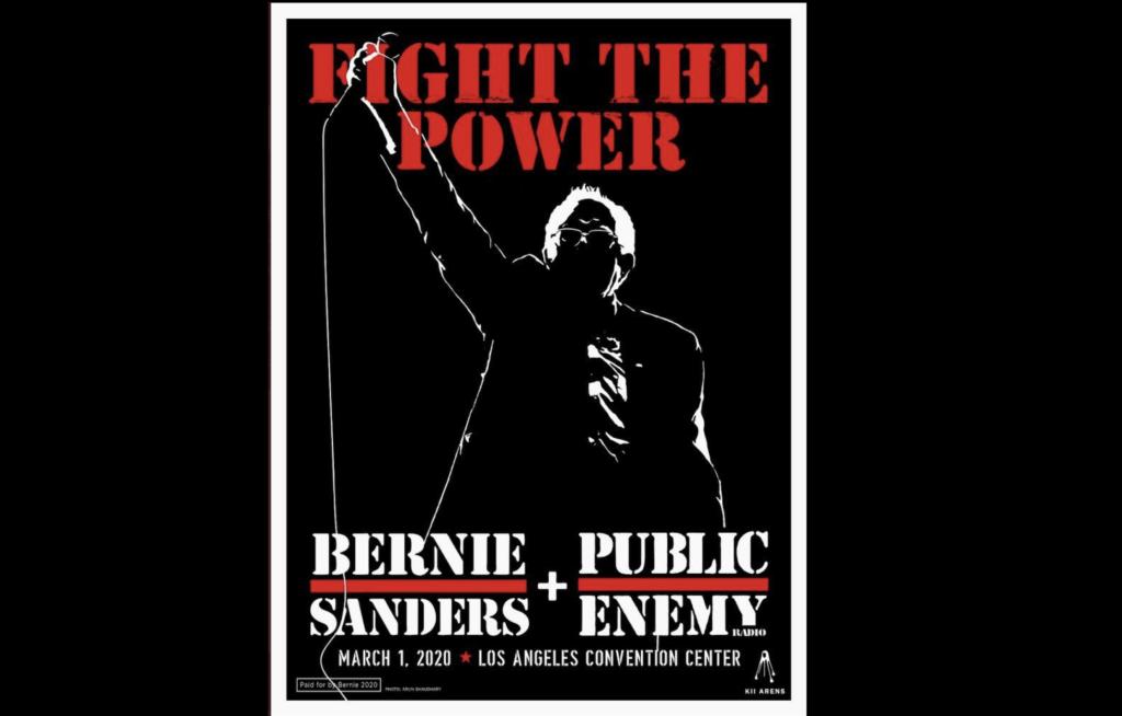 Bernie Sanders X Public Enemy